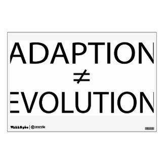 Adaption vs. Evolution Wall Decals