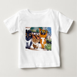 adaptP1040006owl4Crop8x10.jpg Baby T-Shirt
