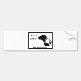 ADAV - Design by Beth Bumper Sticker