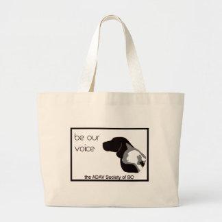 ADAV - Design by Beth Large Tote Bag