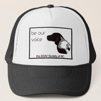 adav society-b trucker hat