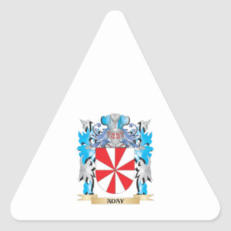 Aday Coat Of Arms Sticker