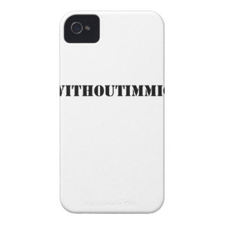 #adaywithoutimmigrants iPhone 4 cover
