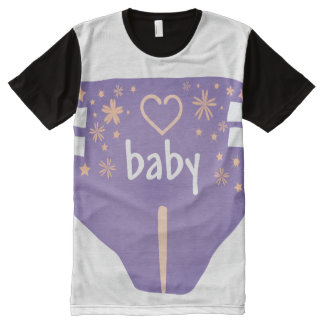 ADBL all over/Baby 4 life/Diaper Lover/All over t All-Over-Print Shirt