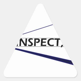 ADC Inspect Logo Triangle Sticker