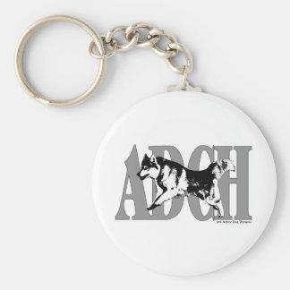 ADCH Sibe Basic Round Button Keychain