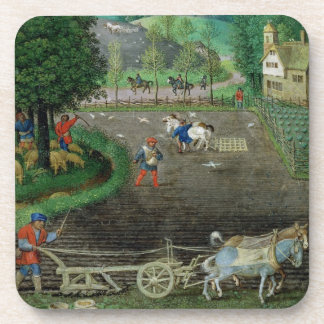 Add 18855 October: ploughing and sowing, from a Bo Beverage Coaster
