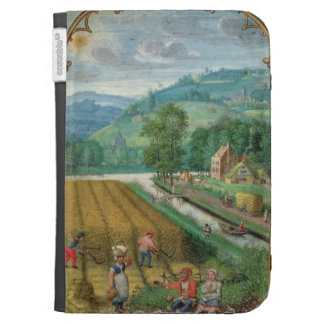 Add 18855 September: harvesting, ploughing and sow Kindle Folio Case