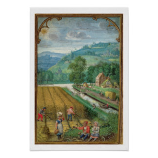 Add 18855 September: harvesting, ploughing and sow Poster