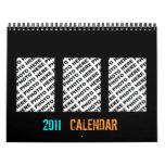 Add 34 Photos In One Calendar Black Frame