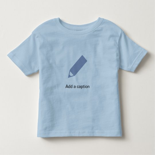Add a caption toddler t-shirt