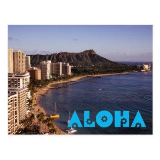 Add a Hawaiian Vacation Photo Postcard