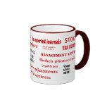 Add a Logo Auditing Swear Words Mug Coffee Mugs