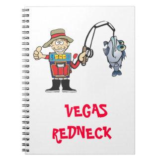 add a message vegas redneck notebook