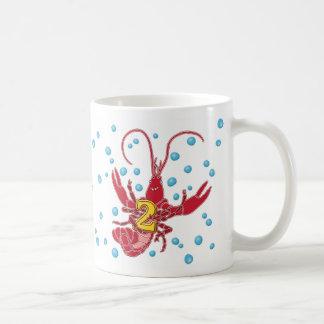 Add A Name Mudbug Number 2 Classic White Coffee Mug