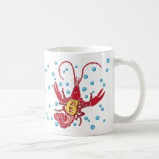 Add A Name Mudbug Number 6 Coffee Mugs