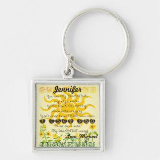 Add a Name | You are my Sunshine Keychain