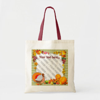 Add a photo ~  Fall Design Bag