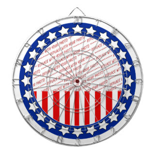 Add a Photo of Your Candidate - Photo Template Dartboard