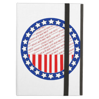 Add a Photo of Your Candidate - Photo Template iPad Air Cover