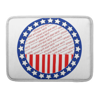 Add a Photo of Your Candidate - Photo Template MacBook Pro Sleeve