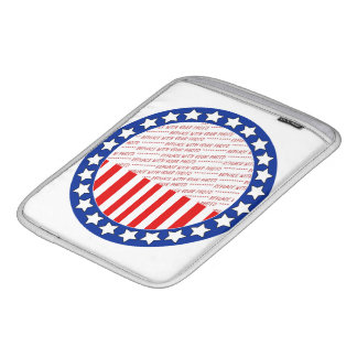 Add a Photo of Your Candidate - Photo Template Sleeve For iPads