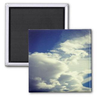 Add A Square Photo 2 Inch Square Magnet