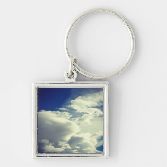 Add a Square Photo Keychain