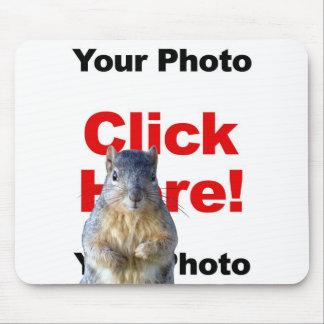 Add A Squirrel Custom Photo Mousepad