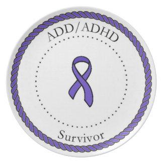 ADD/ADH Survivor Plate