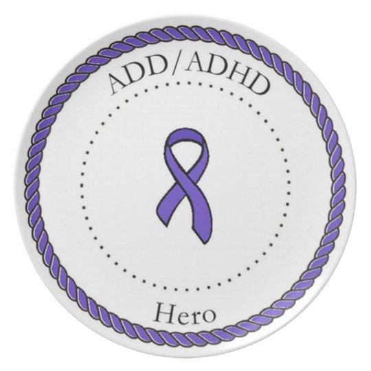 ADD/ADHD Hero Plate
