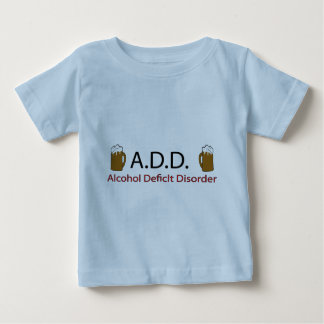 Add Alcohol Deficlt Disorder T-shirt