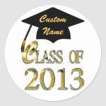 Add Any Name Class Of 2013 Sticker