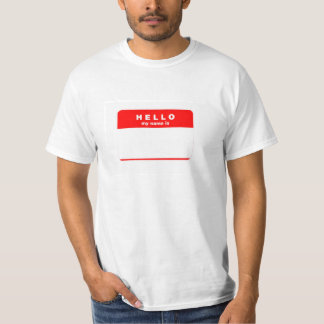 Add Any Name T-Shirt
