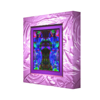 Add art or photo to pudding wrapped canvas prints