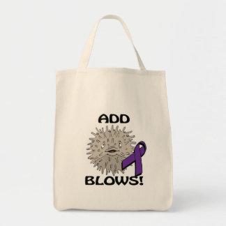 ADD Blows Awareness Design Tote Bag