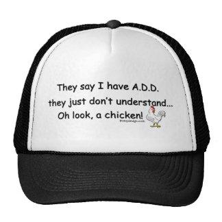 ADD Chicken Humor Trucker Hat