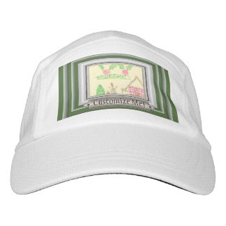 Add Child's Drawing with Custom Color Frame Headsweats Hat