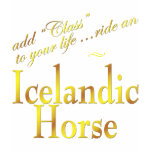 Add Class to your life, ride an Icelandic Horse t-shirts