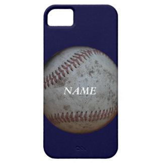 *Add de los aficionados al béisbol su name* iPhone 5 Carcasa