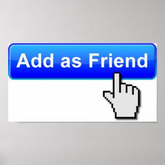 Add Friend Funny Poster