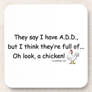 ADD Full of Chickens Coaster