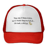 ADD full of Kitty Humor Hats