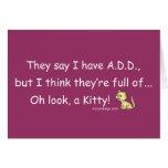 ADD full of Kitty (purple) Card