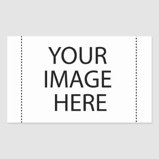 Add Image Text Logo Here Make Your Own Cool Design Rectangular Sticker