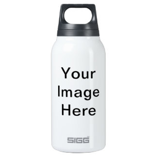 Add Image Text Logo Here Make Your Own Cool Design 10 Oz Insulated SIGG Thermos Water Bottle