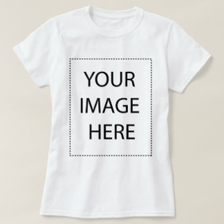 Women 39 s add your logo t shirts zazzle for T shirt design upload picture