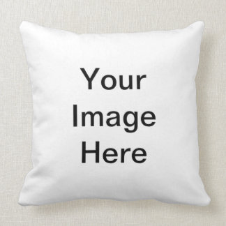 Add Image Text Logo Here Make Your Own Cool Design Throw Pillow