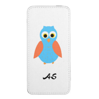 Add Initials or name, Owl design