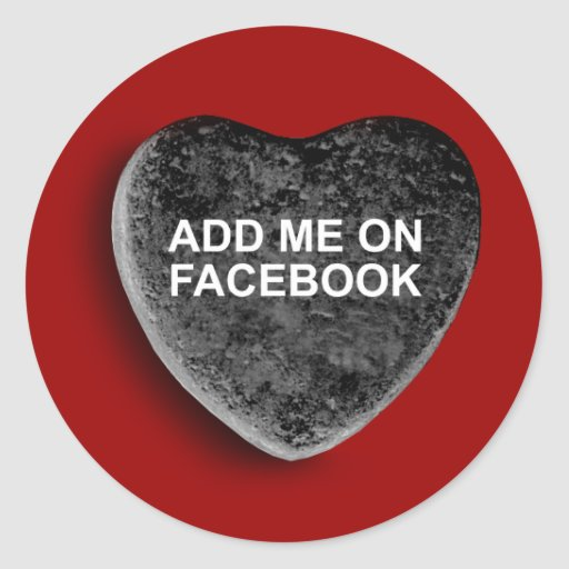 ADD ME ON FACEBOOK STICKERS